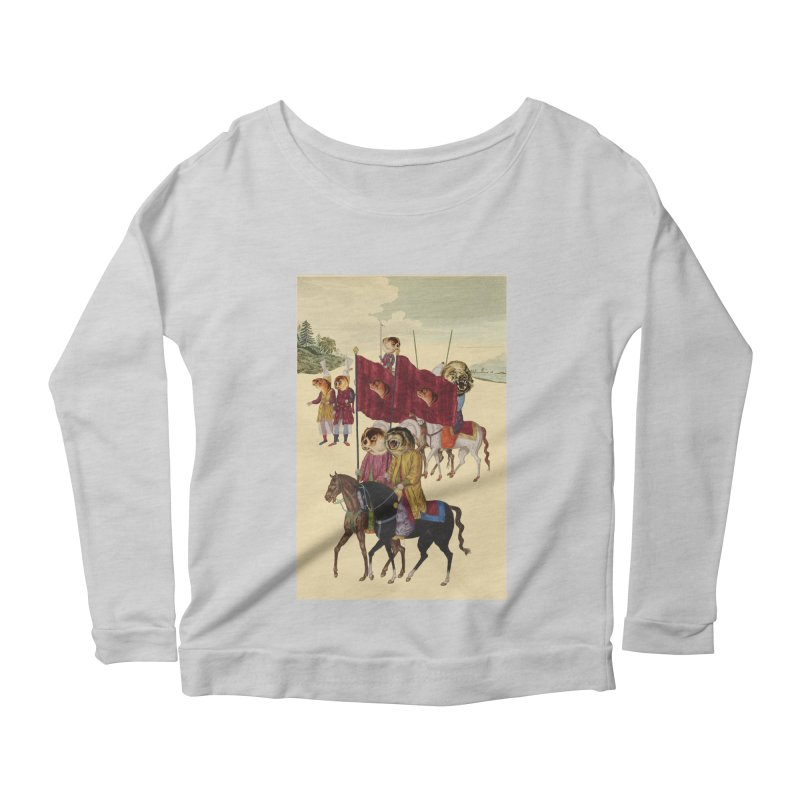 The Ottoman Empire Women's Longsleeve Scoopneck  by Thomas Orrow