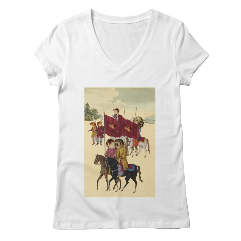 The Ottoman Empire Women's V-Neck by Thomas Orrow