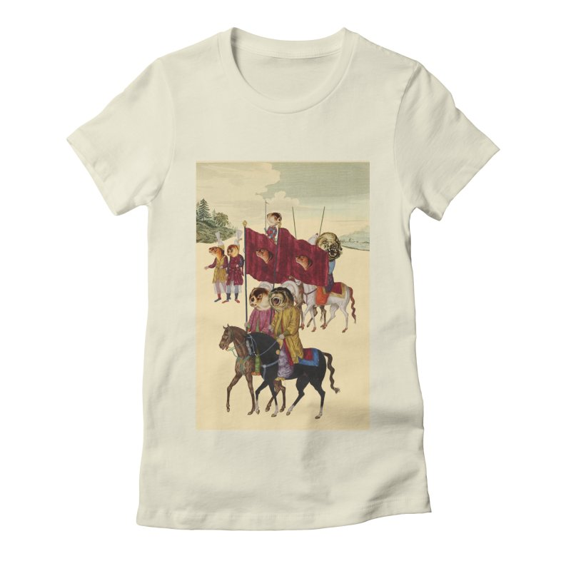 The Ottoman Empire Women's Fitted T-Shirt by Thomas Orrow