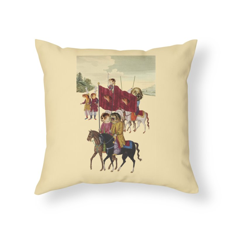 The Ottoman Empire Home Throw Pillow by Thomas Orrow