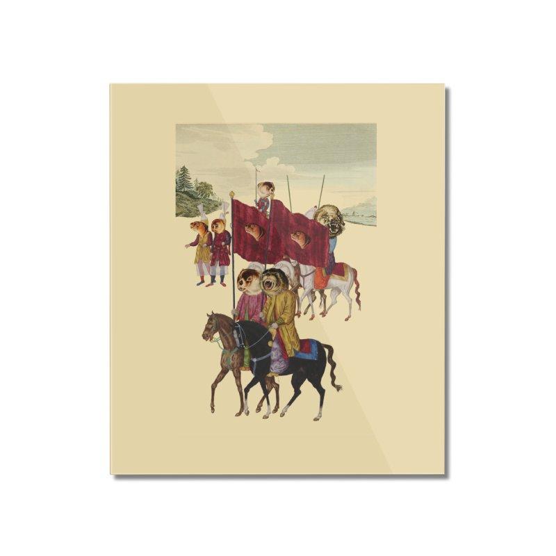 The Ottoman Empire Home Mounted Acrylic Print by Thomas Orrow