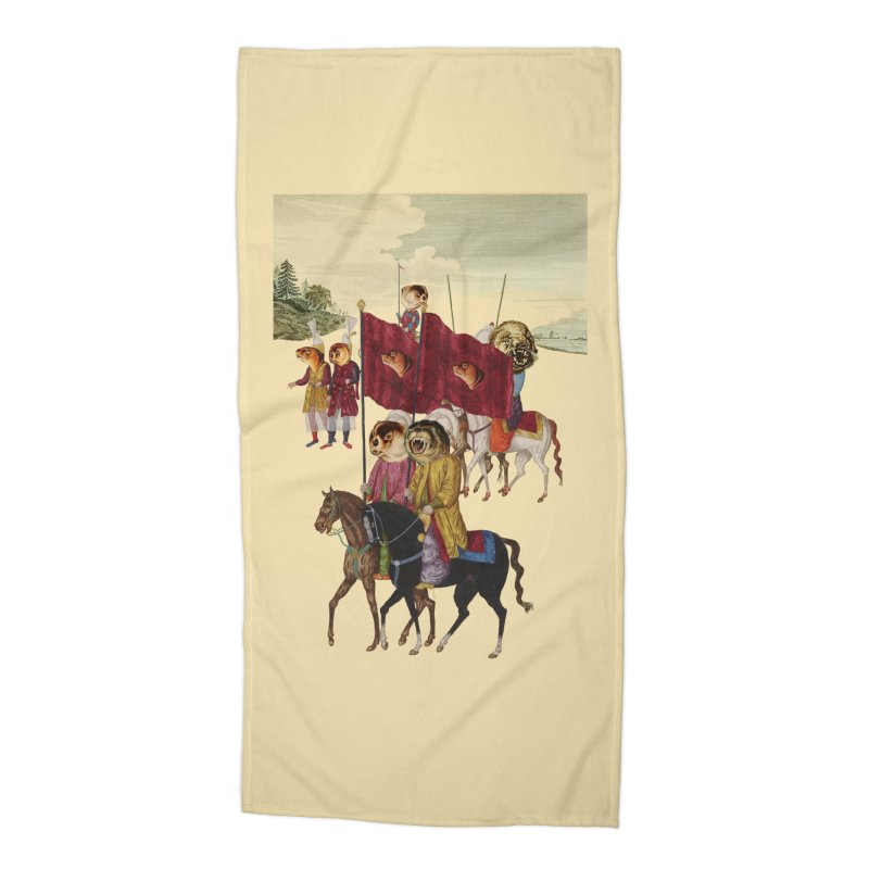 The Ottoman Empire Accessories Beach Towel by Thomas Orrow