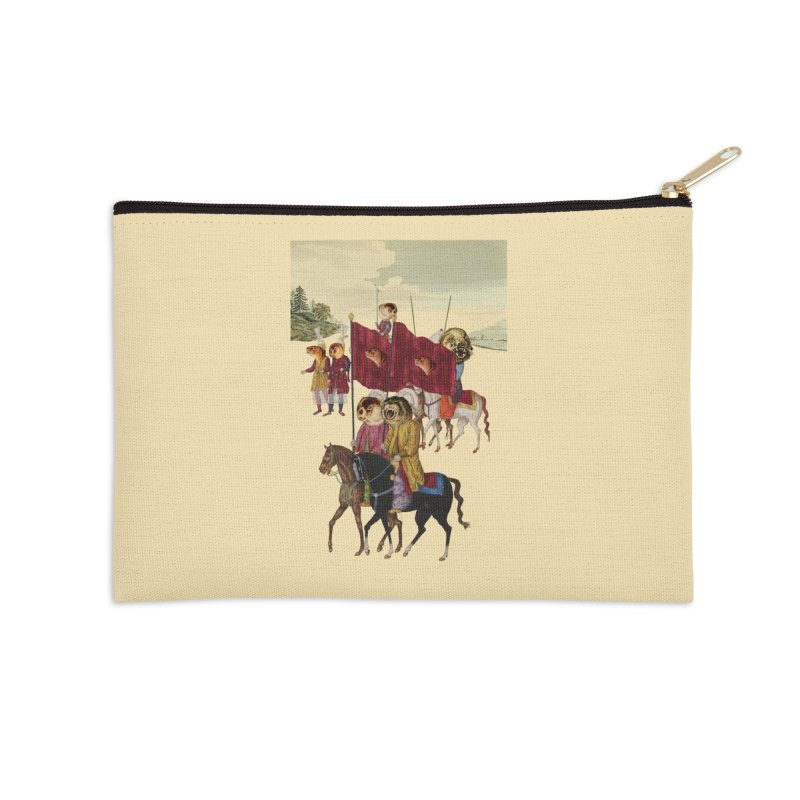 The Ottoman Empire Accessories Zip Pouch by Thomas Orrow