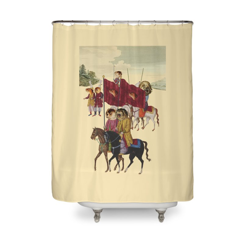 The Ottoman Empire Home Shower Curtain by Thomas Orrow