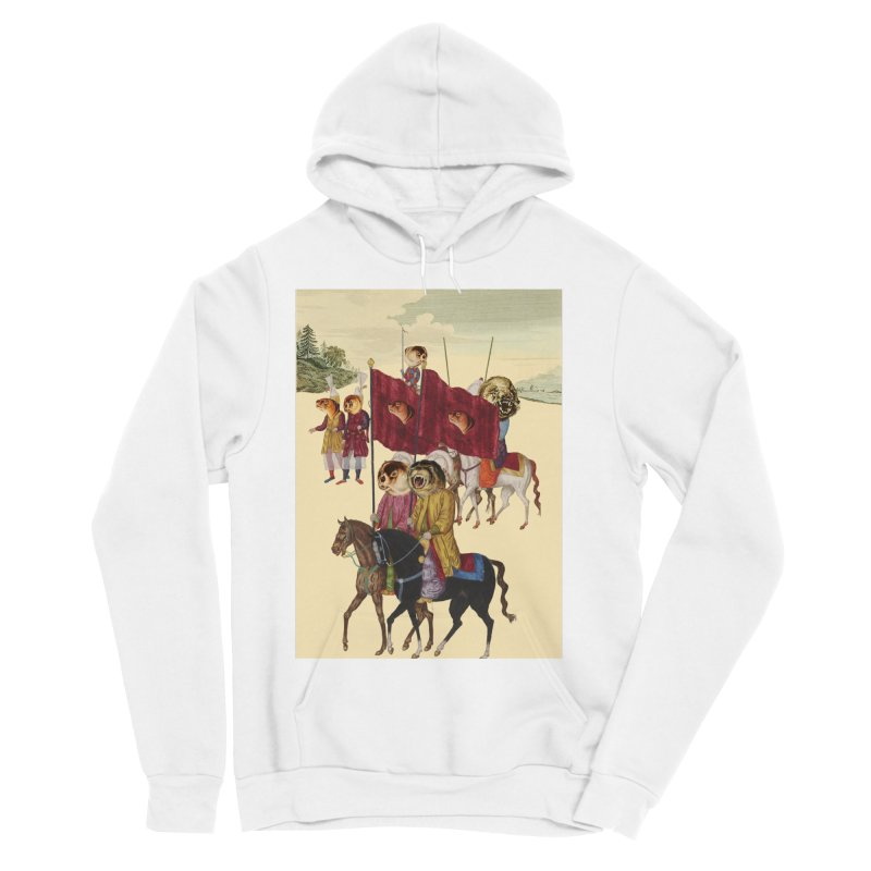 The Ottoman Empire Men's Sponge Fleece Pullover Hoody by Thomas Orrow