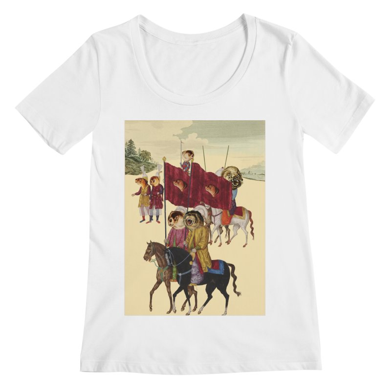 The Ottoman Empire Women's Regular Scoop Neck by Thomas Orrow