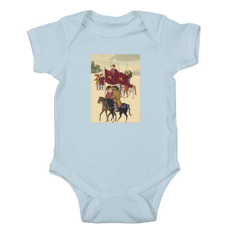 The Ottoman Empire Kids Baby Bodysuit by Thomas Orrow