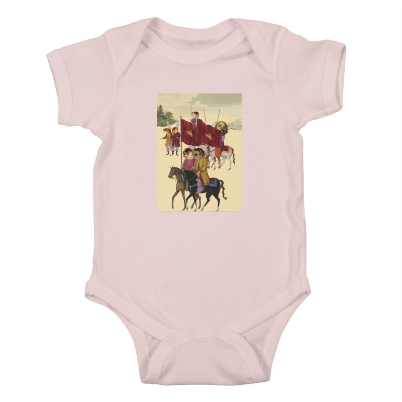 The Ottoman Empire Kids Baby Bodysuit by Thomas Orrow