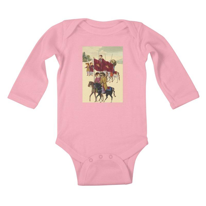 The Ottoman Empire Kids Baby Longsleeve Bodysuit by Thomas Orrow