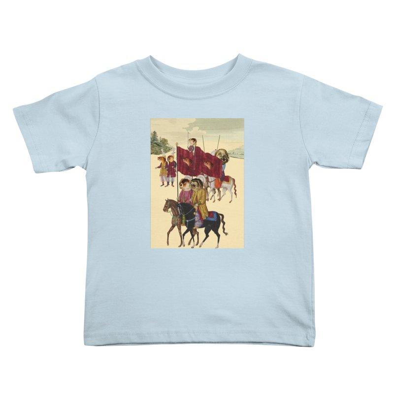 The Ottoman Empire Kids Toddler T-Shirt by Thomas Orrow