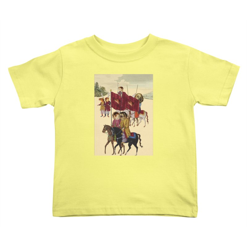 The Ottoman Empire Kids Toddler T-Shirt by Thomas Orrow