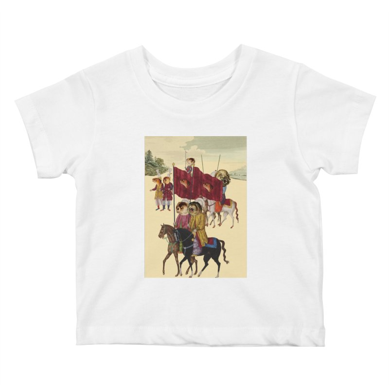 The Ottoman Empire Kids Baby T-Shirt by Thomas Orrow