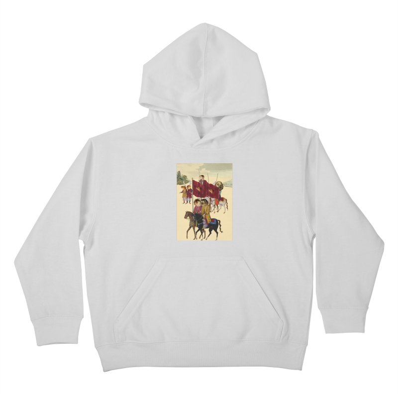 The Ottoman Empire Kids Pullover Hoody by Thomas Orrow