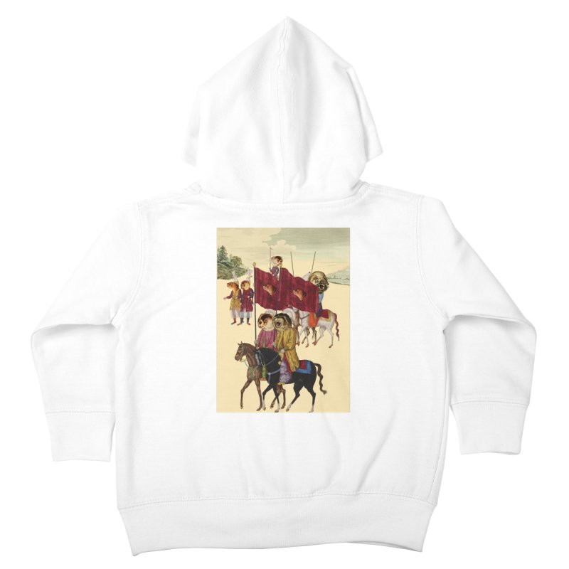 The Ottoman Empire Kids Toddler Zip-Up Hoody by Thomas Orrow