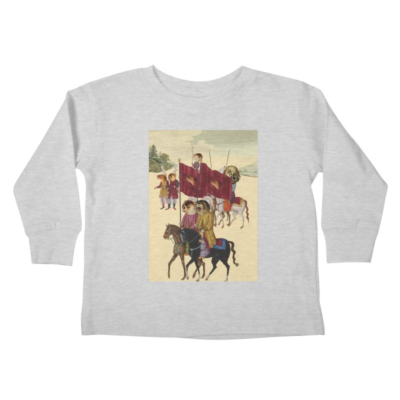 The Ottoman Empire Kids Toddler Longsleeve T-Shirt by Thomas Orrow
