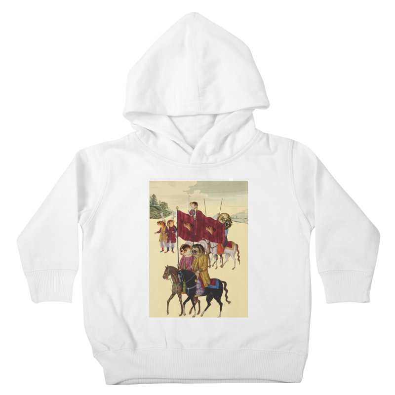 The Ottoman Empire Kids Toddler Pullover Hoody by Thomas Orrow