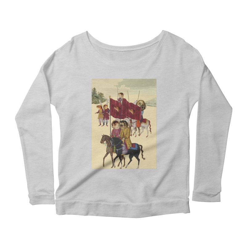 The Ottoman Empire Women's Scoop Neck Longsleeve T-Shirt by Thomas Orrow