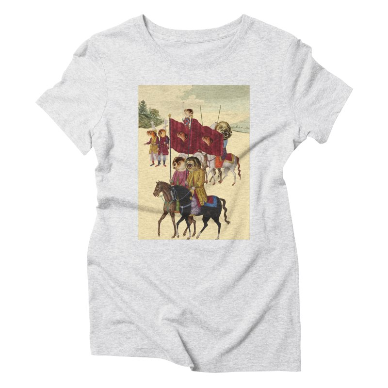 The Ottoman Empire Women's Triblend T-Shirt by Thomas Orrow