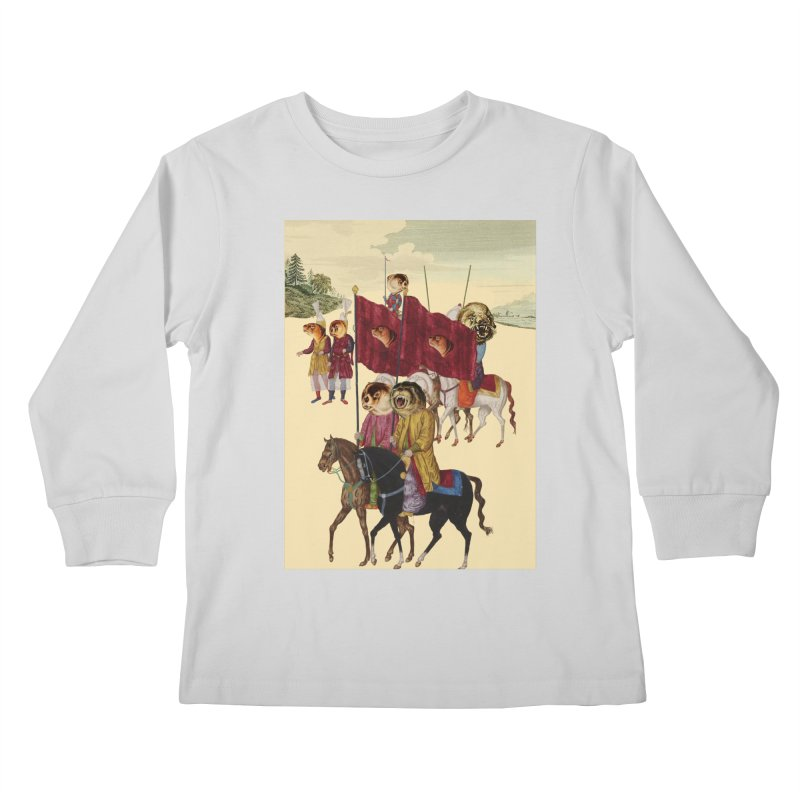 The Ottoman Empire Kids Longsleeve T-Shirt by Thomas Orrow