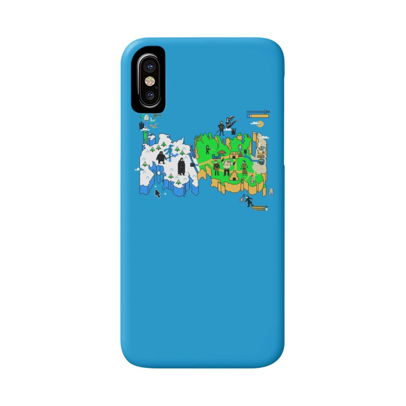Game of Pixels Accessories Phone Case by Thomas Orrow