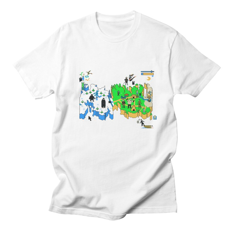 Game of Pixels Women's Unisex T-Shirt by Thomas Orrow