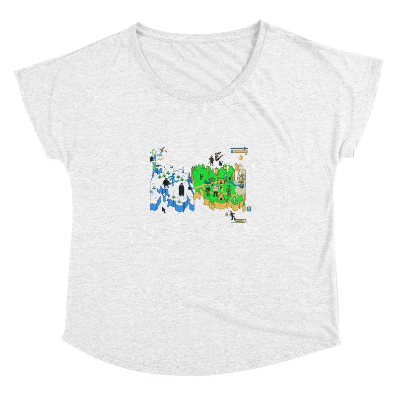 Game of Pixels Women's Dolman by Thomas Orrow