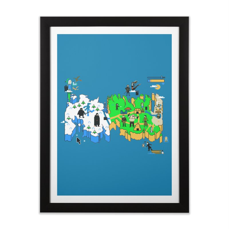 Game of Pixels Home Framed Fine Art Print by Thomas Orrow