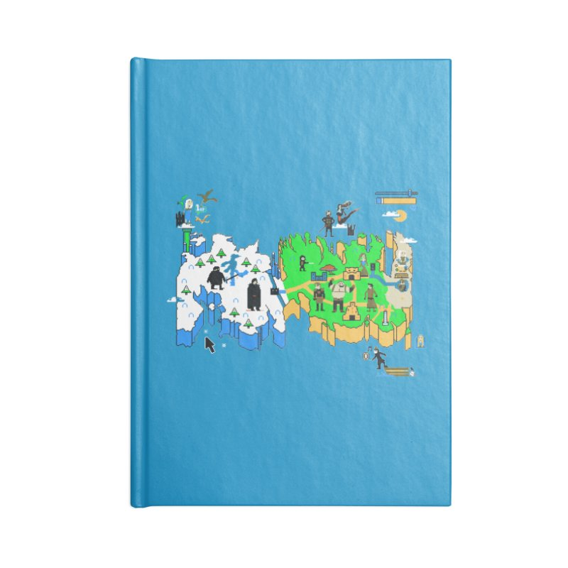 Game of Pixels Accessories Notebook by Thomas Orrow