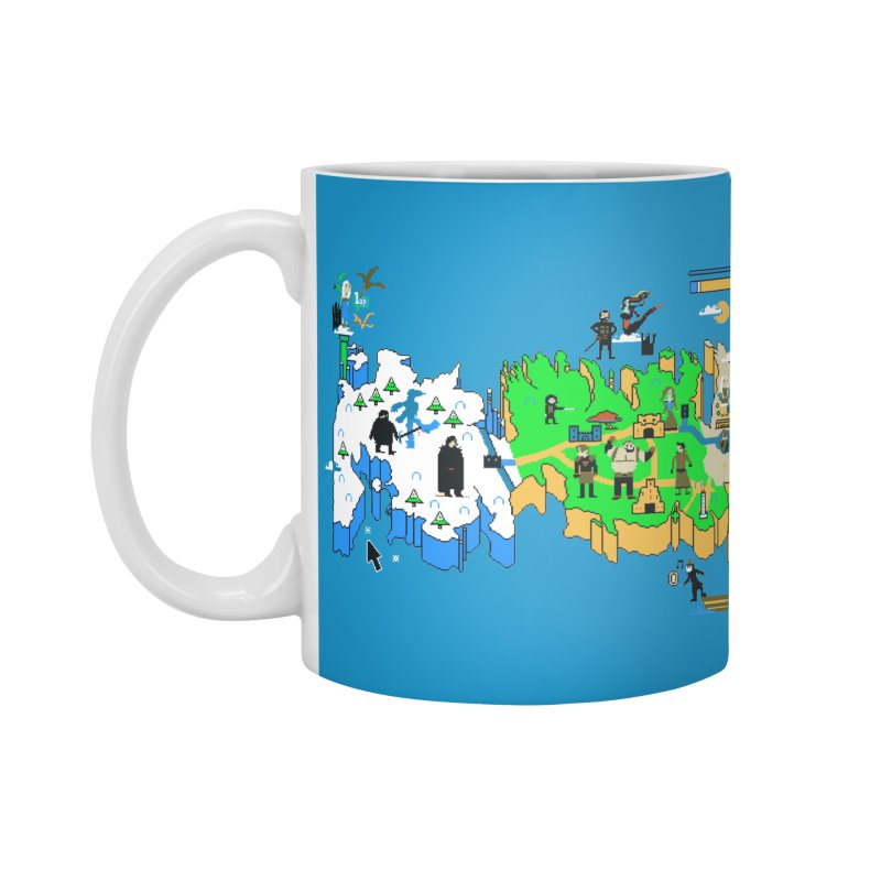Game of Pixels Accessories Mug by Thomas Orrow