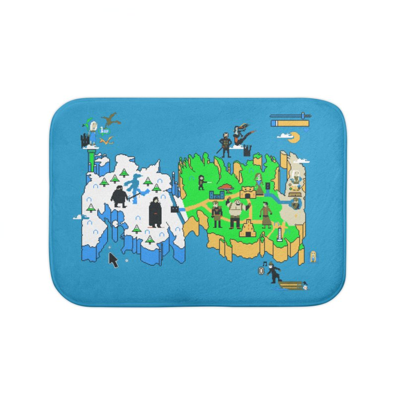 Game of Pixels Home Bath Mat by Thomas Orrow