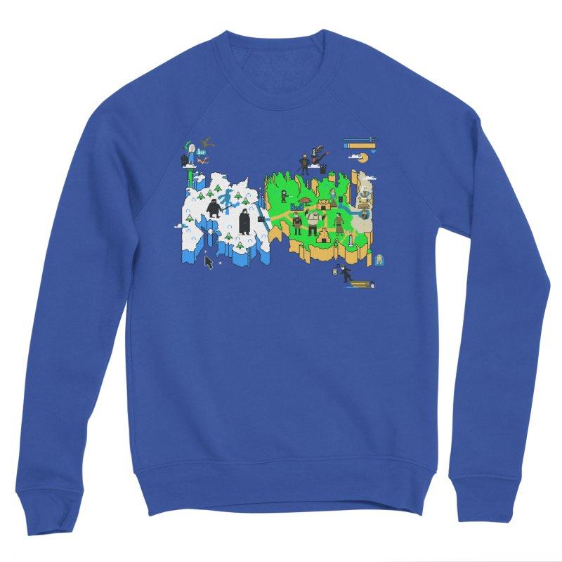 Game of Pixels Women's Sponge Fleece Sweatshirt by Thomas Orrow