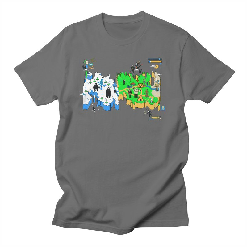 Game of Pixels Men's T-Shirt by Thomas Orrow