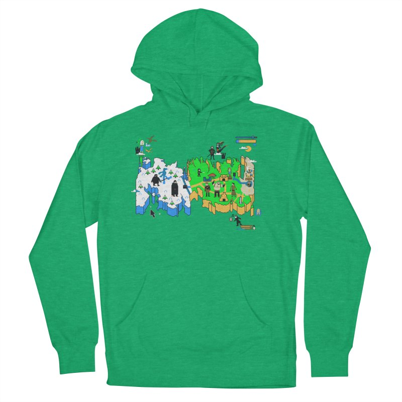 Game of Pixels Women's French Terry Pullover Hoody by Thomas Orrow