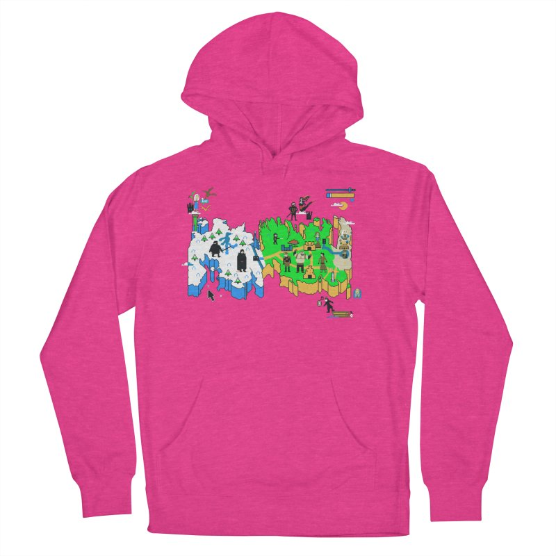 Game of Pixels Women's Pullover Hoody by Thomas Orrow