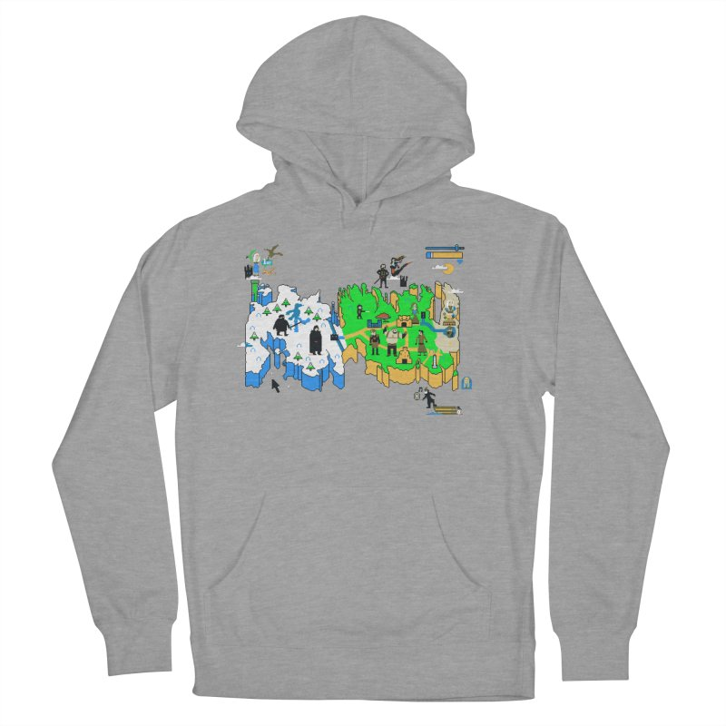 Game of Pixels Men's Pullover Hoody by Thomas Orrow