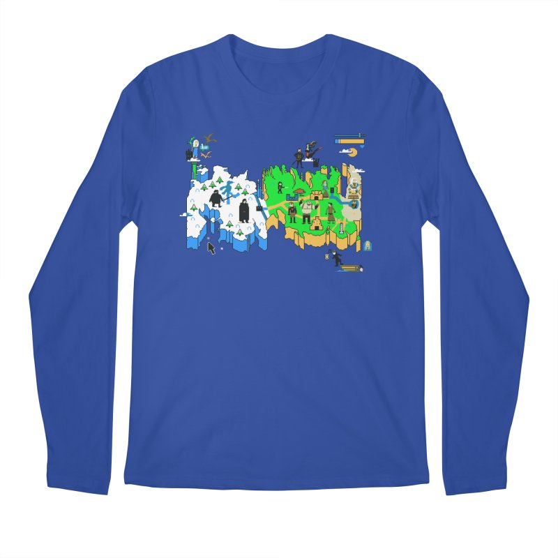 Game of Pixels Men's Regular Longsleeve T-Shirt by Thomas Orrow