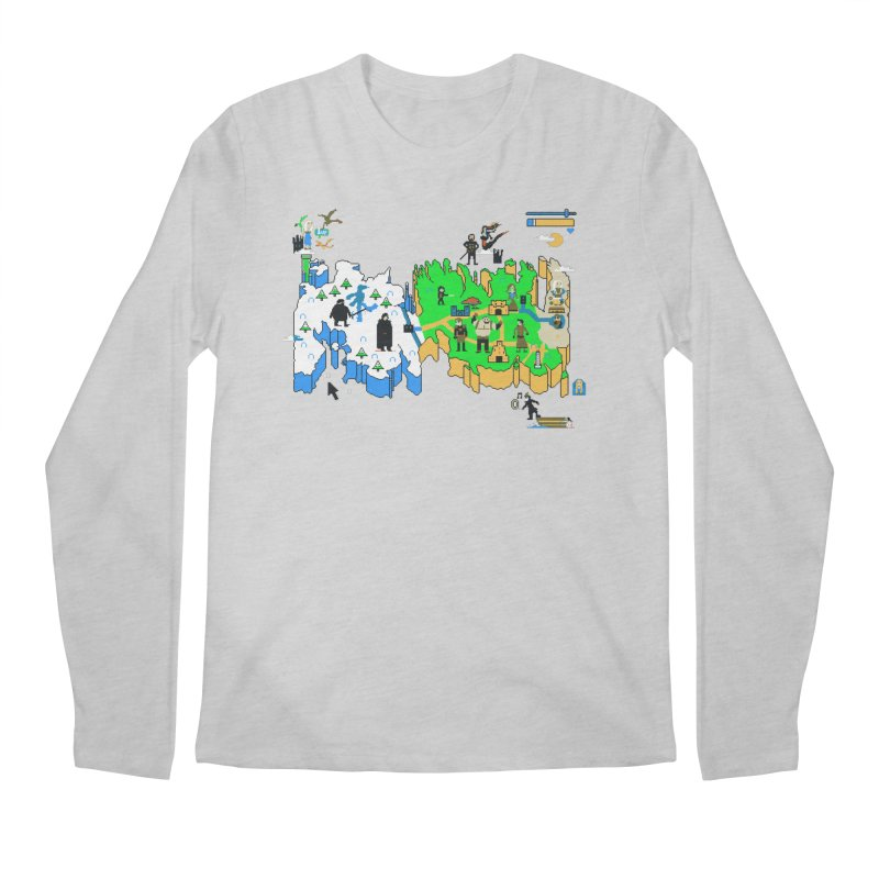 Game of Pixels Men's Longsleeve T-Shirt by Thomas Orrow