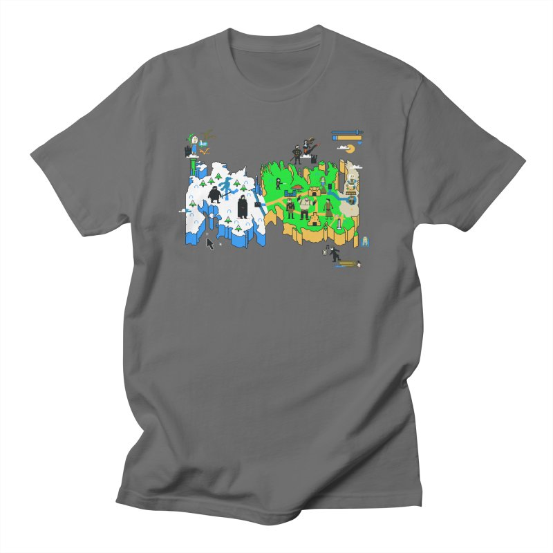 Game of Pixels Women's Regular Unisex T-Shirt by Thomas Orrow