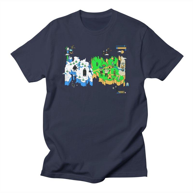 Game of Pixels Men's T-Shirt by Thomas Orrow