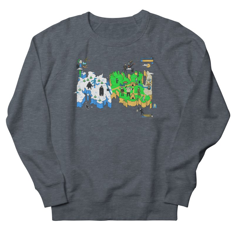 Game of Pixels Men's French Terry Sweatshirt by Thomas Orrow