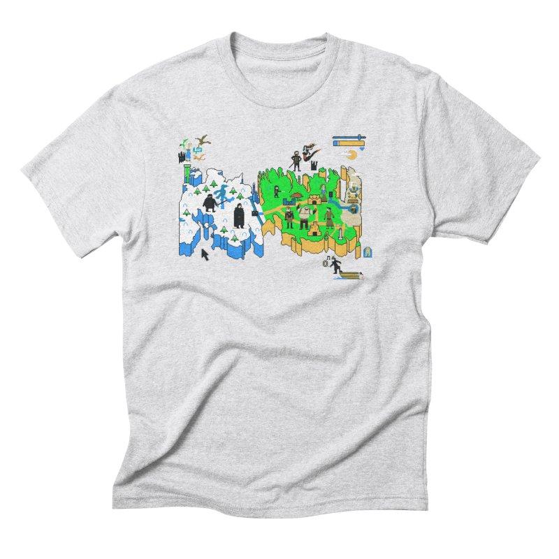 Game of Pixels Men's Triblend T-Shirt by Thomas Orrow