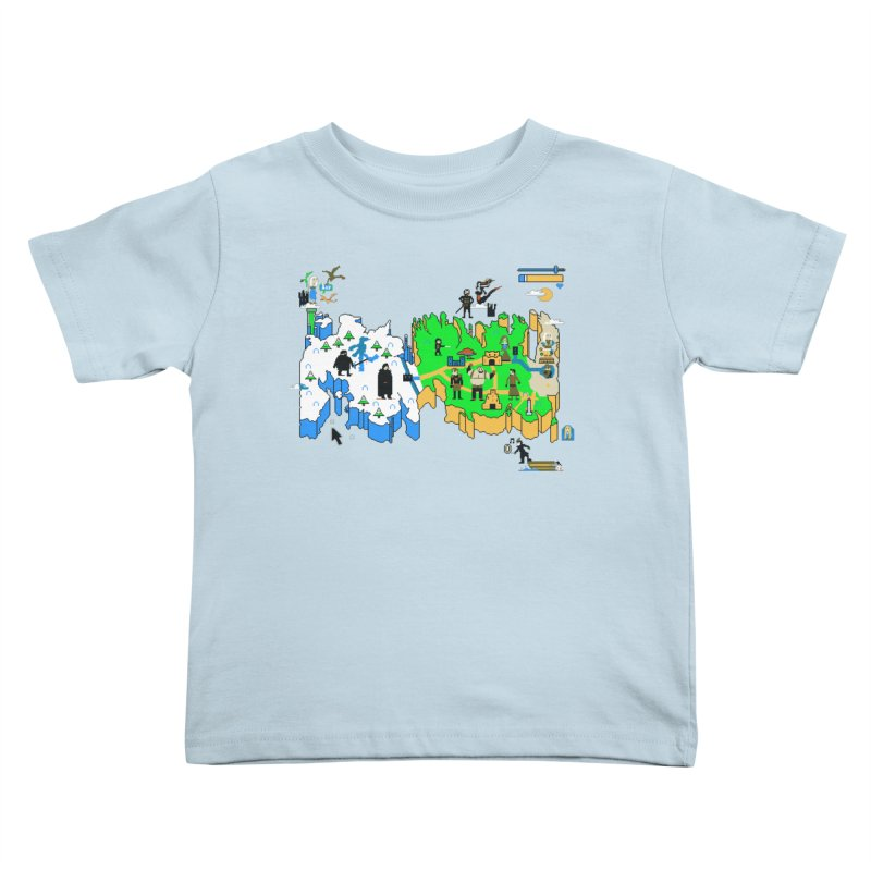 Game of Pixels Kids Toddler T-Shirt by Thomas Orrow