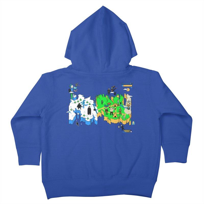 Game of Pixels Kids Toddler Zip-Up Hoody by Thomas Orrow