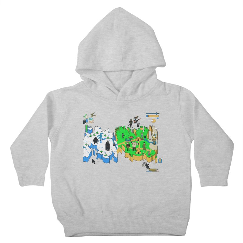 Game of Pixels Kids Toddler Pullover Hoody by Thomas Orrow