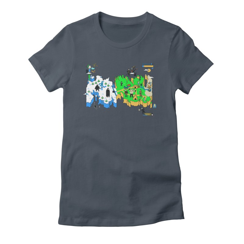 Game of Pixels Women's T-Shirt by Thomas Orrow