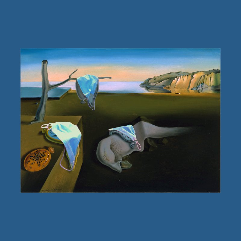 Dali's Suspension of Time Home Duvet by Thomas Orrow
