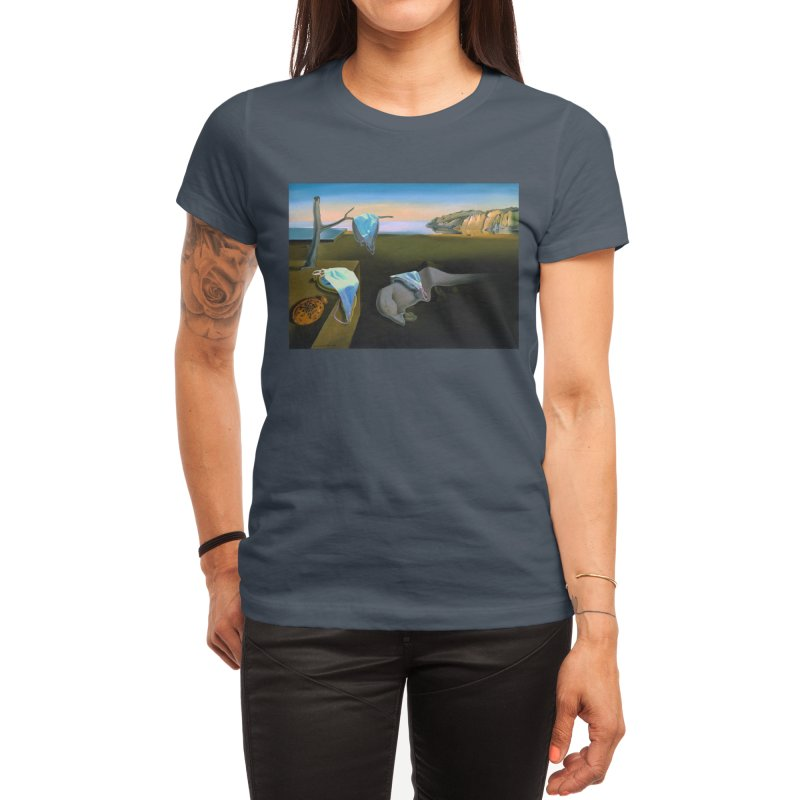 Dali's Suspension of Time Women's T-Shirt by Thomas Orrow