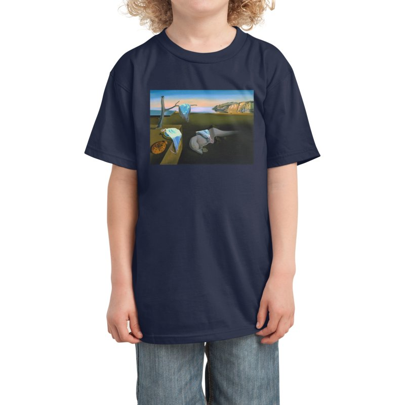 Dali's Suspension of Time Kids T-Shirt by Thomas Orrow