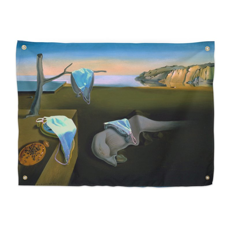 Dali's Suspension of Time Home Tapestry by Thomas Orrow