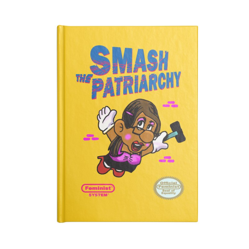 Smash the System Accessories Notebook by Thomas Orrow